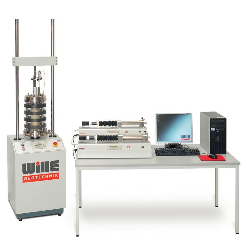 伺服气动控制动三轴试验系统