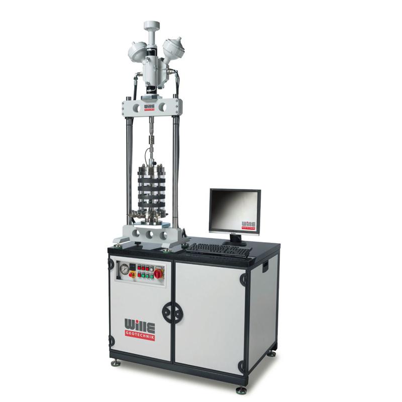 伺服液压动三轴试验系统