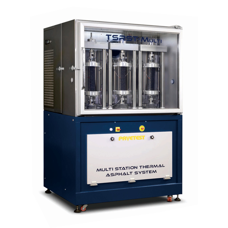B282-10多测试位沥青混合料温度约束试样测试系统 (TSRST-Multi)