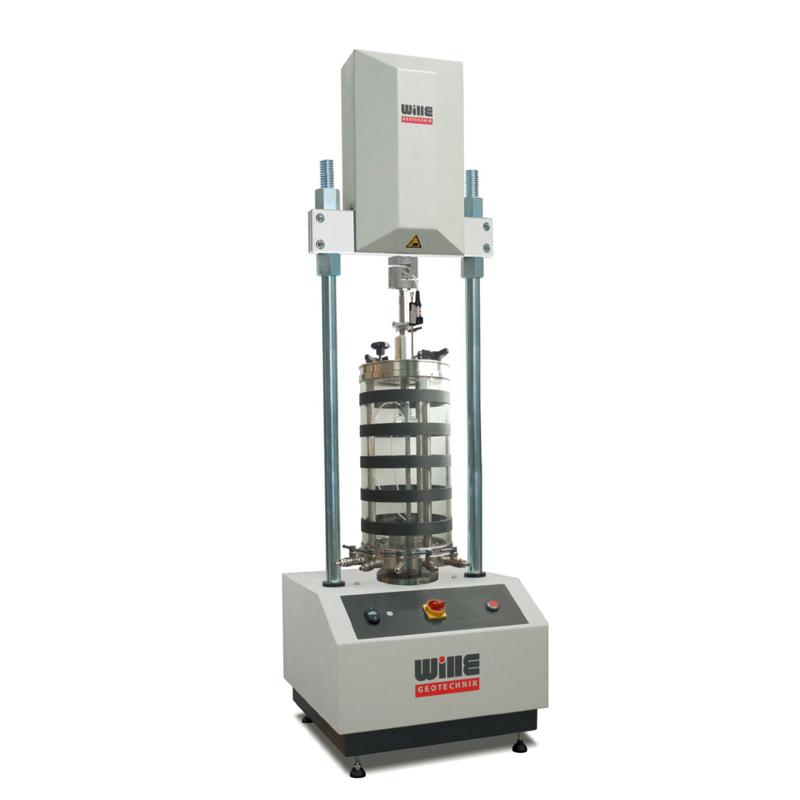 台式电机控制动三轴试验系统