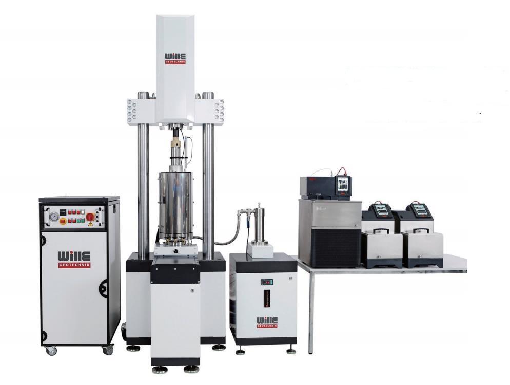 动态高压低温三轴试验系统