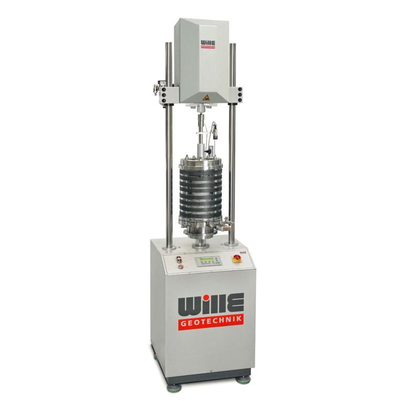 电机控制动三轴试验系统