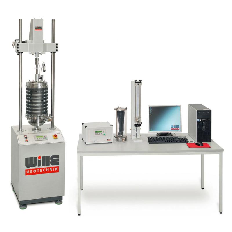 电机-气动组合型动三轴试验系统
